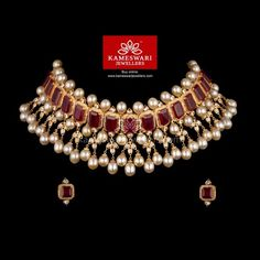 Traditional gold necklaces for women from the house of Kameswari. Shop for antique gold necklace, exquisite diamond necklace and more! Gold Earrings Designs, Gold Jewellery Design, Antique Jewellery, Mughal Jewelry, Tikka Jewelry, Gold Designs, India Jewelry, Temple Jewellery, Jewlery