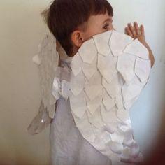 Fantasia anjo - Passo a passo asas de anjo