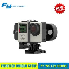 88.90$  Buy here - http://ali7vg.worldwells.pw/go.php?t=32760571049 - FY WG Lite Feiyu Wearable Gimbal Affordable Single Axis Gimbal Stabilizer for Gopro 3 3+4 Camera PK WG/Zhiyun Smooth C/DJI Osmo 88.90$