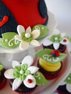 {ditzie cakes} - ladybugs
