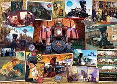 B & O Railroad Jigsaw Puzzle - 1000 Pieces