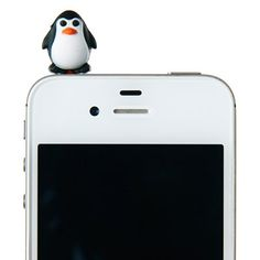 Phone Plug Accessory from Smiggle - penguin