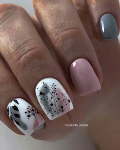 Simple Gel Nails, Cute Gel Nails, Subtle Nails, Classy Nails, Stylish Nails, Pretty Nails, Pink Nail Art, Pastel Nails, Pink Nails