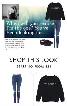 """""""There is no promise.."""" by clea69 ❤ liked on Polyvore featuring Vans"""