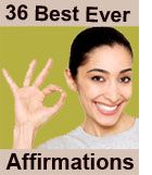 36 'Best Ever' EFT Tapping Affirmations