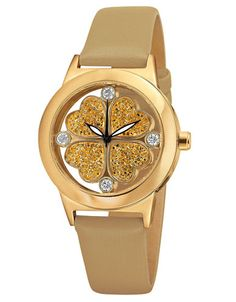 Folli Follie Heart4Heart Rose Gold-Plated Crystal Watch