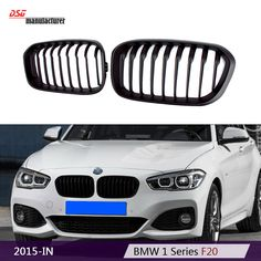 2015 F20 LCI car styling ABS front kidney hood grill mesh M Sport replacement black bumper grille for 1 Series F20 F21 hatchback