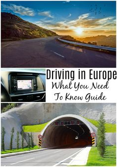 Driving in Europe - What you need to know travel guide. Perfect reading for your next road trip European Road Trip, Road Trip Europe, Road Trip Destinations, Europe Travel Tips, European Travel, Travel Guide, Holiday Destinations, Road Trips, Travel Ideas