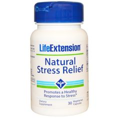 Life Extension, Natural Stress Relief, 30 Veggie Caps  #stress #formula #support #balance #management #iherb #thingstobuy #shopping #relief