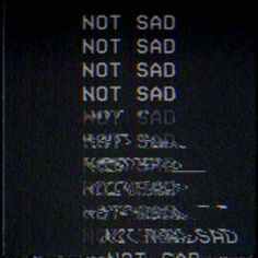 My emotions while listen to music❤❤ it blurrs them and just doesn't let me think of anything.it's just me and my music💕💕 Frases Tumblr, Ex Machina, Vaporwave, Glitch, Sad Quotes, Qoutes, Deep Thoughts, Random Thoughts, Aesthetic Wallpapers