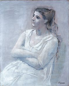 woman in white - picasso 1923