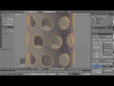 Blender, subsurf, pipe with holes - YouTube