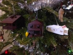 House & Cabin Models/Ornaments by drewsloan