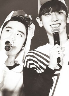 Let me tell you the story of satan and the virus... aka look at this picture of kyungsoo and chanyeol ^.^