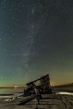 Peter Iredale on the Oregon coast