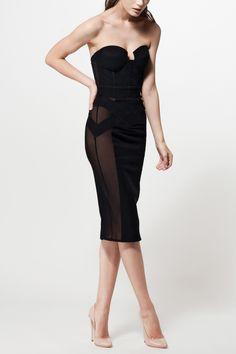 MURMUR Stark pencil dress