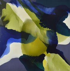From Turner Galleries: Lisa Wolfgramm Painting 349 (2013) acrylic on canvas, 100 x 100 cm Courtesy of the artist