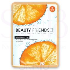 Beauty Friends II Essence Mask Sheet Pack (Vitamin)