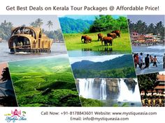 Book Kerala Tour Packages and Kerala Honeymoon Packages for 9 nights / 10 days. Get the best holiday deals on Kerala packages with Mystique Asia to visit the best tourist places in Kerala. Family Vacation Packages, Honeymoon Packages, Kerala Travel, Kerala Tourism, Best Tourist Destinations, Tourist Places, Best Holiday Deals, Kerala India, South India