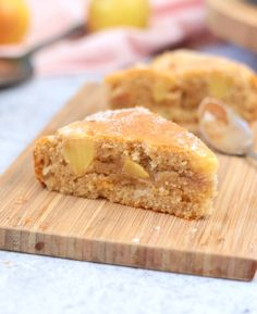 This super easy French Apple Cake recipe is the perfect dessert to whip up in 30 minutes. The One-Bowl French Apple Cake is super Moist and Light - great to enjoy with your afternoon tea or to finish a heavy meal! Easy French Recipes, Apple Recipes Easy, French Dessert Recipes, Apple Cake Recipes, Easy Cake Recipes, Almond Recipes, Sweet Recipes, Apple Cakes, Brownie Recipes