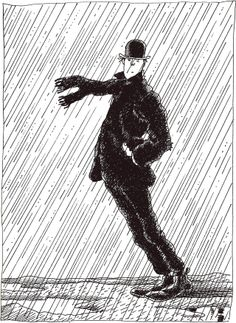 Jacques TARDI - From Sketchbook 1 - Jean-Christophe Menu Editor, Paris, 2001