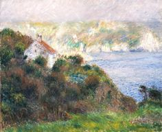 Fog On Guernsey Painting by Pierre Auguste Renoir