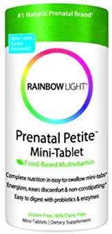 Rainbow Light Prenatal Petite Mini-Tab Multivitamin Digestive Support 180 Tablets for sale online Natural Multivitamin, Multivitamin Tablets, Complete Nutrition, Rainbow Light, Prenatal Vitamins, Health Vitamins, Thing 1, Nutritional Supplements, Nutritional Yeast