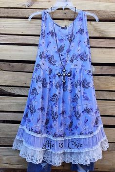 Everyday Beauty Lavender Floral Dress