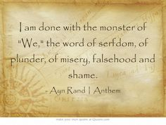 29 Best Ayn Rand Quotes Images Ayn Rand Quotes Lyrics Words Quotes