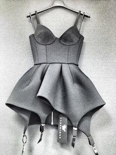 ::Bohemique::Fall 2012::    Garter dress