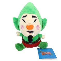 Generic Tingle the Legend of Zelda Nintendo Game Tincle Stuffed Animal Soft Plush Toy Figure Doll 7 @ niftywarehouse.com #NiftyWarehouse #Geek #Zelda #Products #LegendOfZelda #Nintendo