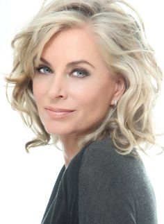 Eileen Davidson of The Young and the Restless, Days of Our Lives and the Real Housewives of Beverly Hills. Short Wedding Hair, Wedding Hair And Makeup, Bridal Hair, Hair Makeup, Wedding Updo, Wedding Beauty, Fall Wedding, Mother Of Bride Makeup, Mother Of The Bride Hair