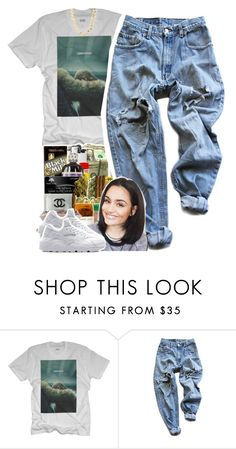 """""""hold up"""" by yeauxbriana ❤ liked on Polyvore featuring Levi's, NIKE and Charlotte Russe"""