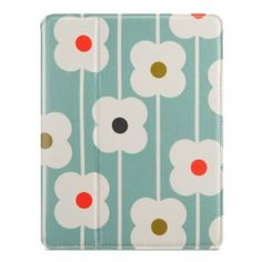 Belkin Orla Kiely Abacus Blue Soft Folio Case Cover for iPad 2, 3, 4 Generation