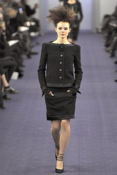 Paris Haute Couture: Chanel Spring-Summer 2012 Collection   2013 Fashion Trends