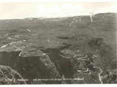 Måbødalen mot Hardangervidda Ruten Eidfjord-Haugastøl Utg Normann