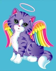 Nails unicorn lisa frank ideas for 2019 Lisa Frank Stickers, John Maxwell, Rainbow Bridge, Cat Drawing, Cool Cats, Cool Artwork, Cat Art, Iphone Wallpaper, Chevron Wallpaper