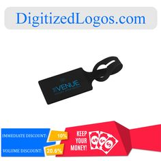 Get the Silicone Luggage Tag at only $2.25 instead of $2.50 plus more discount on volume purchase! Please visit Digitizedlogos.com for more information and inquiry.