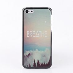 Breathe Back Case for iPhone 5C – USD $ 2.99