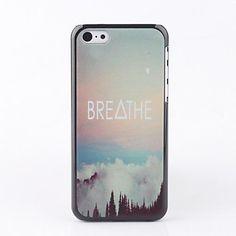 Respira de nuevo caso de iPhone 5C – USD $ 2.99