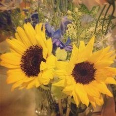 お客さんから花束♡2