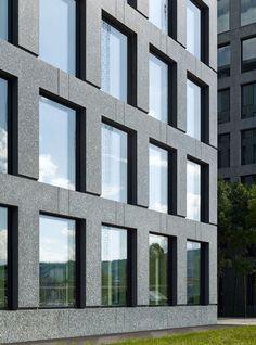 Max Dudler Architekt, Stefan Müller · Herostrasse office building, Zurich · Divisare