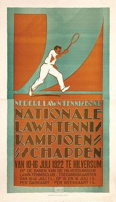 Nationale Lawn-Tennis Kampioenschappen ~ Louis Kalff
