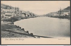 Looe, Showing the Bridge, Cornwall, c.1905 - Argall's Postcard