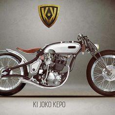 Ki Joko Kepo  Amazing boardtracker from Honda 200cc engine concrpt by Klenik Kustom Indonesia #caferacergram #caferacerindonesia #caferacer #caferacerxxx #caferacerworld #honda #tiger2000 #boardtracker #kustom #custom #japstyle #conceptmotorcycle #customconcepts