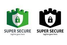 Super Secure Logo by tkent on @creativemarket