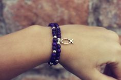 Items similar to Stackable Purple Achira Seed Bracelet on Etsy I Shop, Seeds, Trending Outfits, Unique Jewelry, Handmade Gifts, Purple, Bracelets, Etsy, Vintage