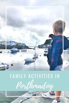 Some great ideas for family activities in Porthmadog, North Wales #daysout #familytravel