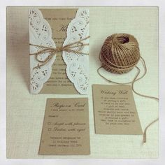 Items similar to 100 x Rustic Wedding Invitations - rustic chic wedding invitation - DEPOSIT on Etsy Wedding 2015, Chic Wedding, Rustic Wedding, Our Wedding, Dream Wedding, Do It Yourself Wedding, Rustic Invitations, Invitation Ideas, Homemade Wedding Invitations