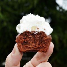 Nutella Brownie Mini Cupcakes recipe Kan ook met andere chocoladepasta. Beetje ei en beetje bloem erbij en klaar is Klara. ;)
